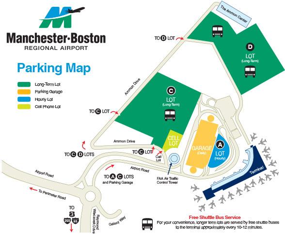 Manchester Boston Regional Airport Webbtrans